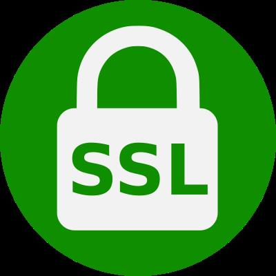 SSL padlock logo